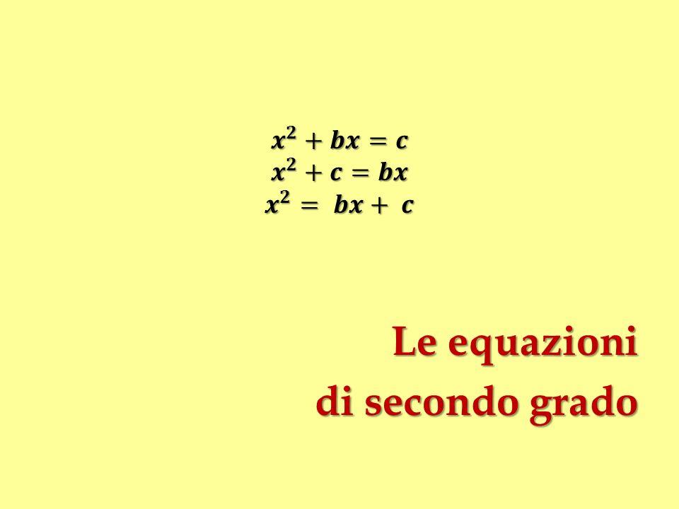 Le formule di Tartaglia: unobiezione Valgono solo per equazioni ridotte x 3 + p x + q = 0 [1] e non per equazioni cubiche complete x 3 + r x 2 + p x + q = 0 [2] Era però noto che x = y – r/3 x 3 + r x 2 + p x + q = 0 y 3 + p y + q = 0