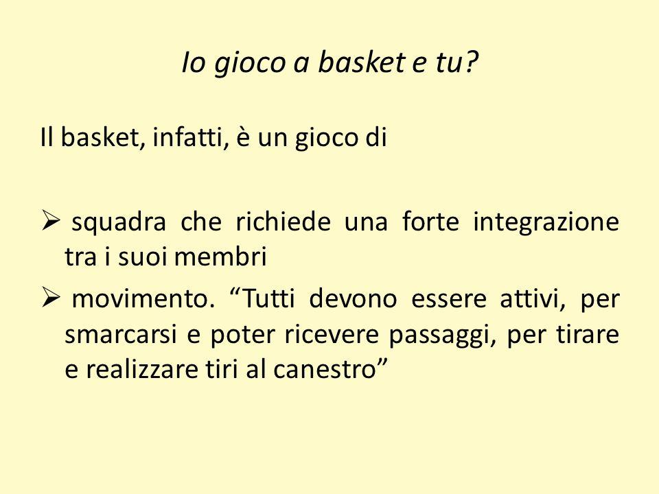 Io gioco a basket e tu.Andrea incontra Francesco al campetto…….