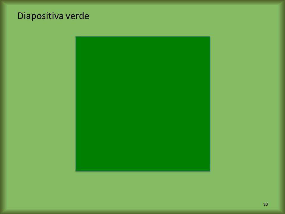 Diapositiva verde 93