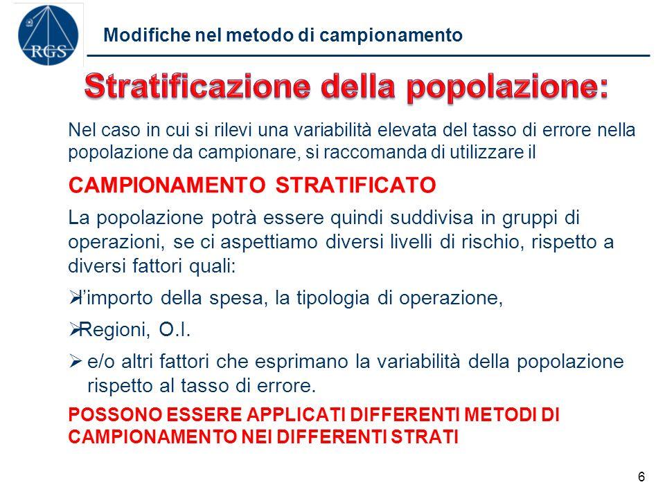 Controlli in Italia per il 2013 Come hanno campionato le AdA nel 2013 7