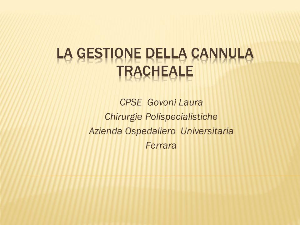 CPSE Govoni Laura Chirurgie Polispecialistiche Azienda Ospedaliero Universitaria Ferrara