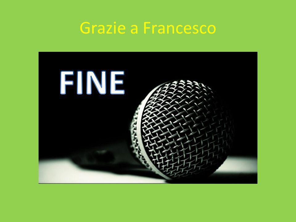 Grazie a Francesco