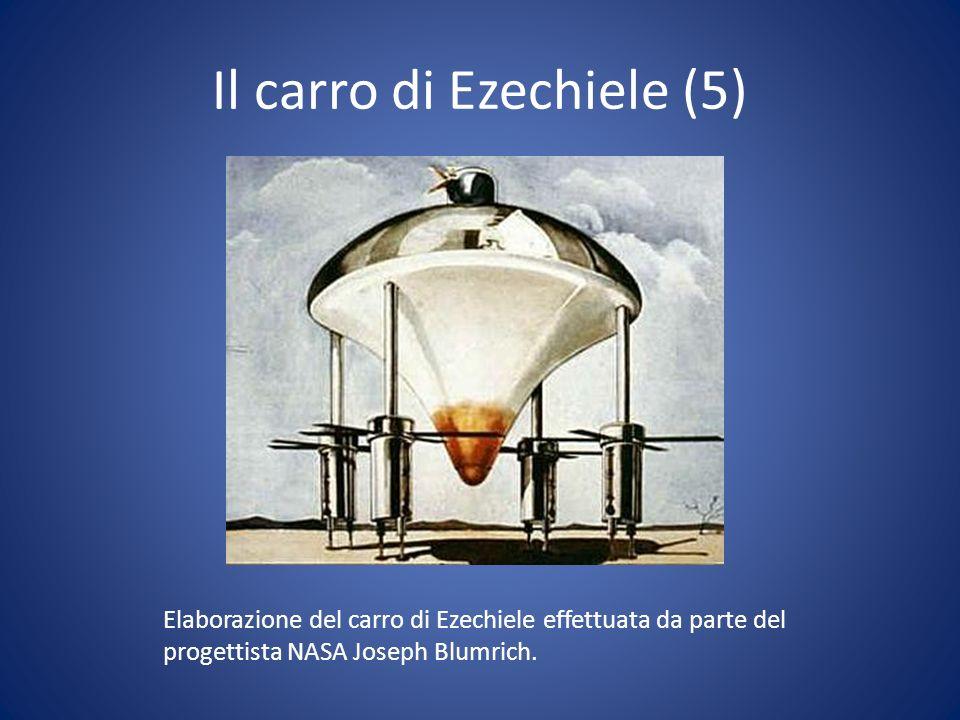 Il carro di Ezechiele (5) Elaborazione del carro di Ezechiele effettuata da parte del progettista NASA Joseph Blumrich.