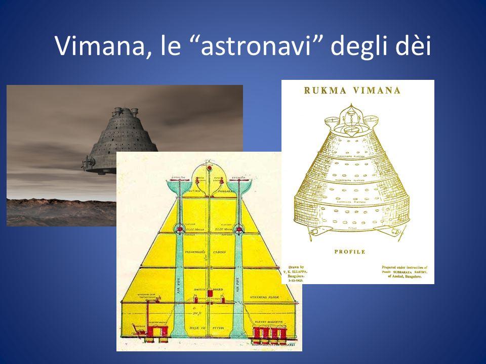 Vimana, le astronavi degli dèi