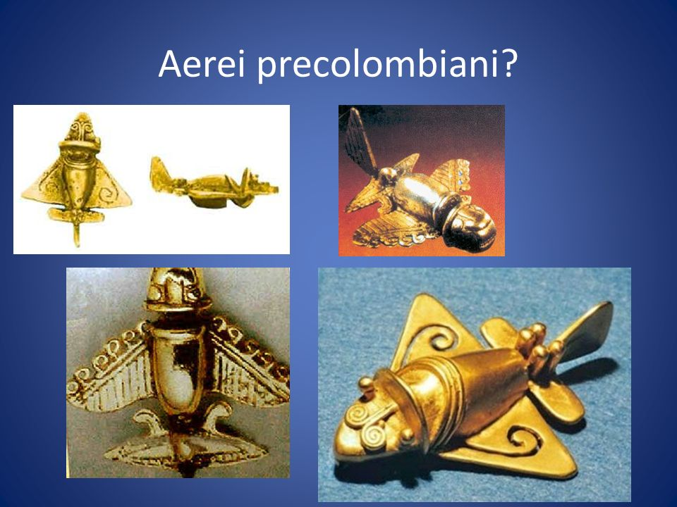 Aerei precolombiani?