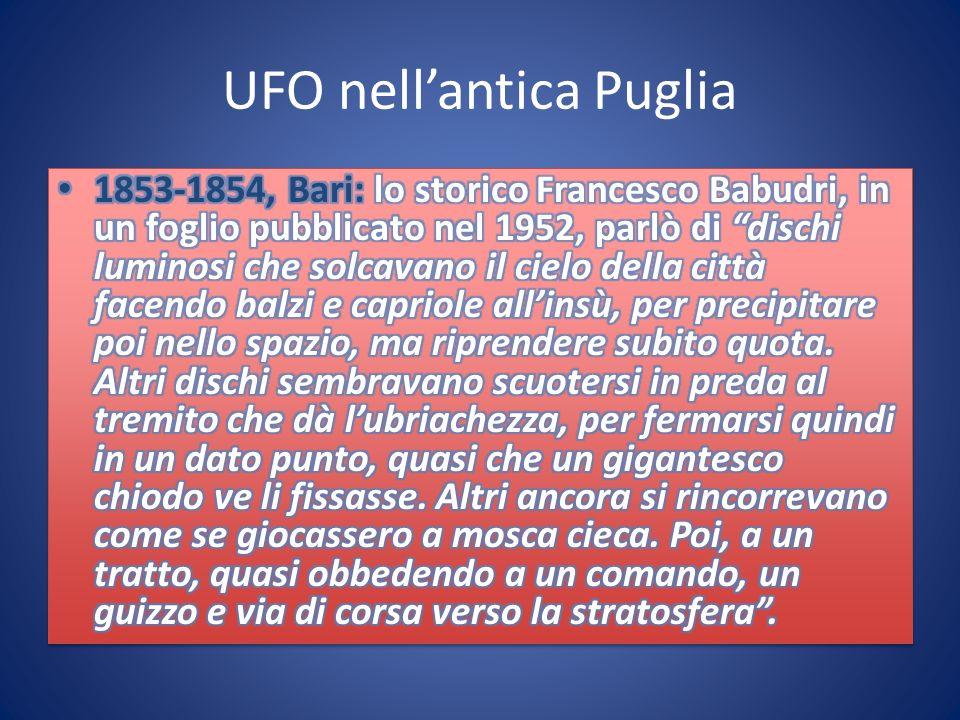 UFO nellantica Puglia