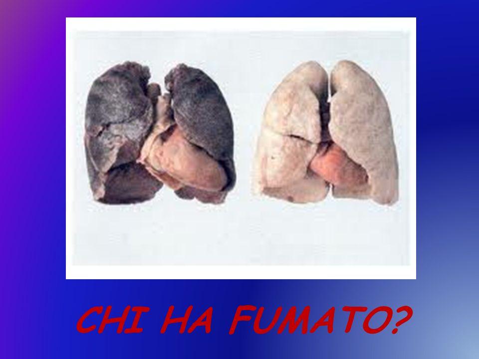 CHI HA FUMATO?