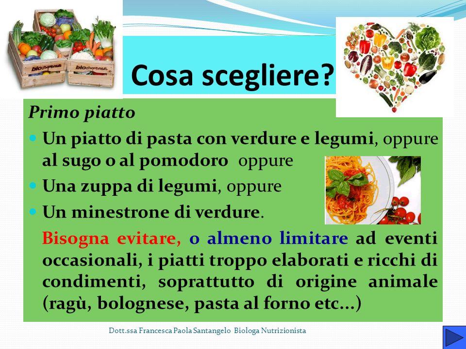 Pranzo Dott.ssa Francesca Paola Santangelo Biologa Nutrizionista Il pranzo deve fornire il 50% delle calorie totali giornaliere.