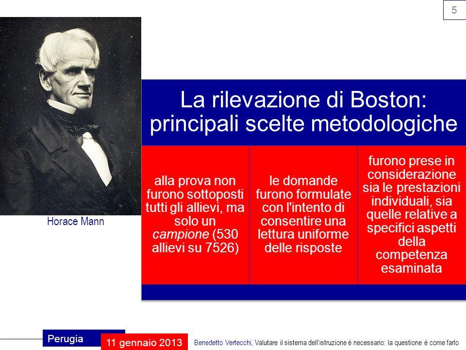 16 Perugia 11 gennaio 2013 Benedetto Vertecchi, Valutare il sistema dell istruzione è necessario: la questione è come farlo valutazione iniziale quali sono state le esperienze precedenti.