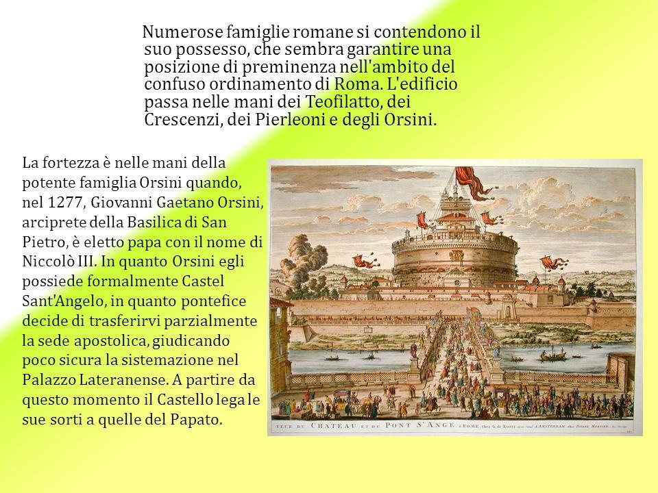 Numerose famiglie romane si contendono il suo possesso, che sembra garantire una posizione di preminenza nell ambito del confuso ordinamento di Roma.