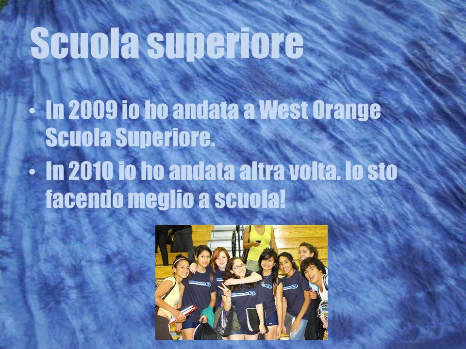 Scuola superiore In 2009 io ho andata a West Orange Scuola Superiore.