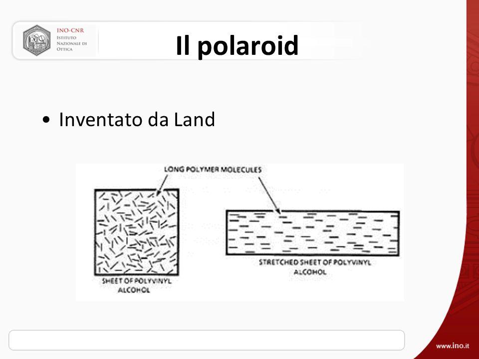 Il polaroid Inventato da Land