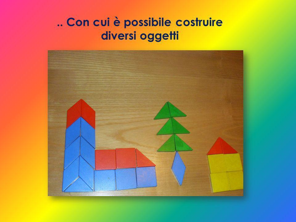 .. Con cui è possibile costruire diversi oggetti