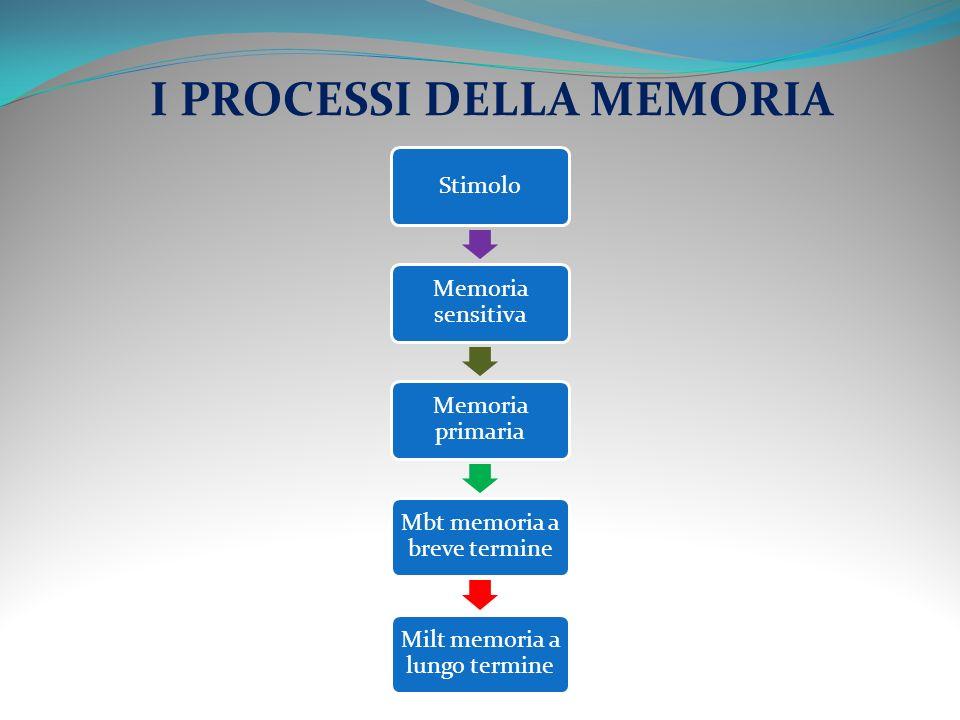 COME SI MEMORIZZA UNINFORMAZIONE.Attraverso gli organi di senso (es.