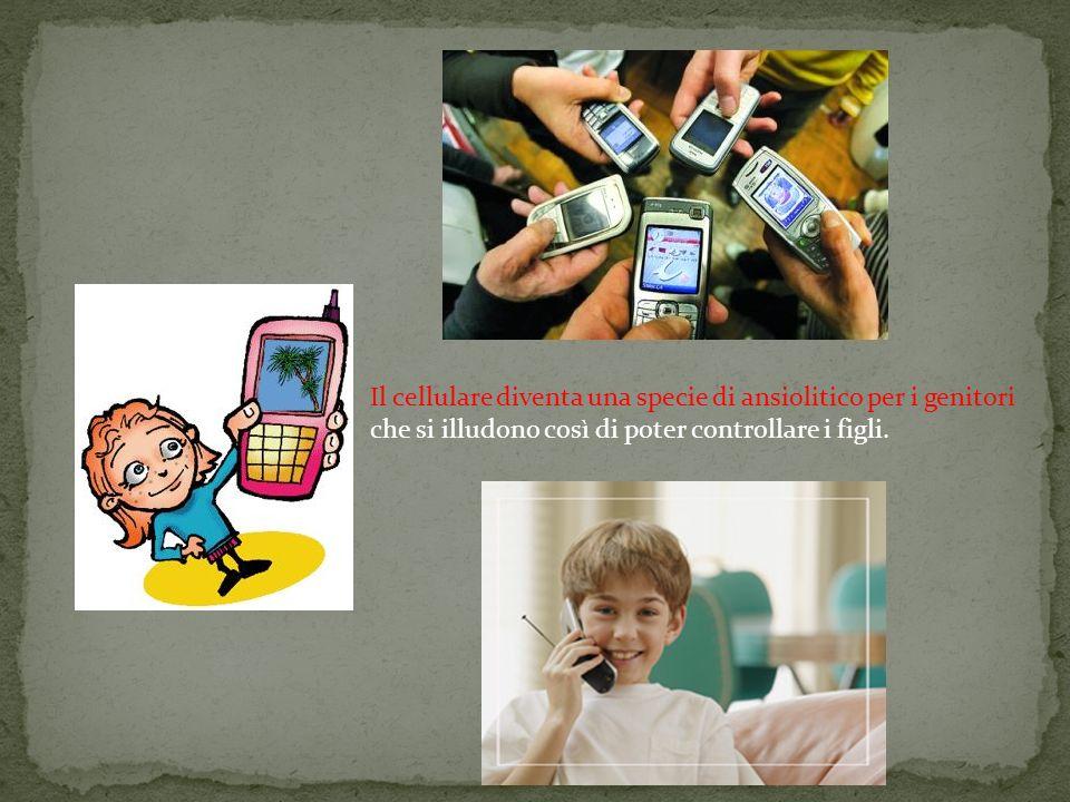il telemothering o teleparantage , la tendenza cioè a voler controllare i figli 24 ore su 24, fin dalla scuola elementare.