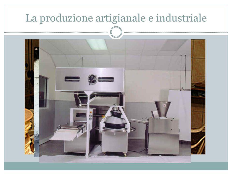 La produzione artigianale e industriale