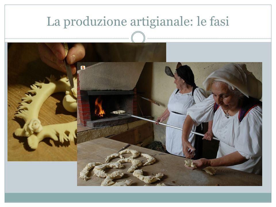La produzione artigianale: le fasi