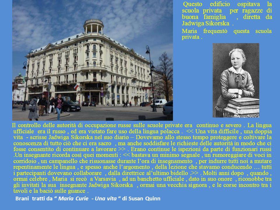 Il controllo delle autorità di occupazione russe sulle scuole private era continuo e severo. La lingua ufficiale era il russo, ed era vietato fare uso