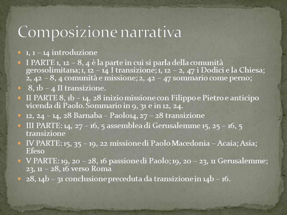 La composizione si semplifica molto considerando le due parti 1 – 12, 23 e 12, 24 – 28.