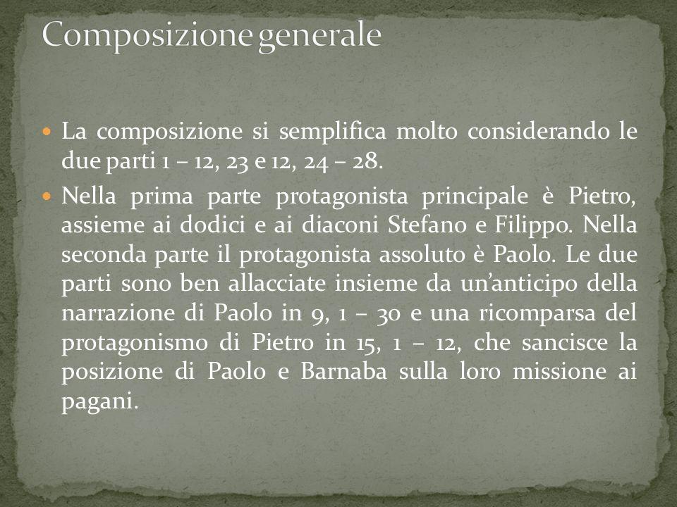 la composizione di Atti obbedisce ad un progetto globale, che lo collega al vangelo di Luca.
