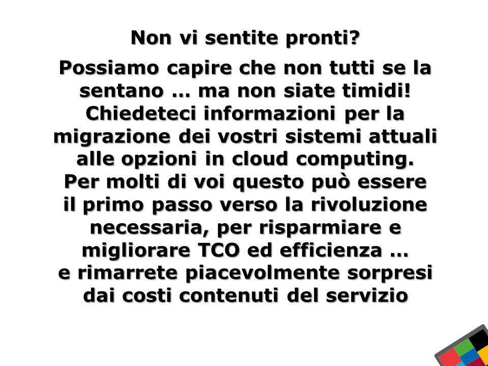 30 Ex Libris Ltd., 2012 - Internal and Confidential In Italia Non vi sentite pronti? Possiamo capire che non tutti se la sentano … ma non siate timidi