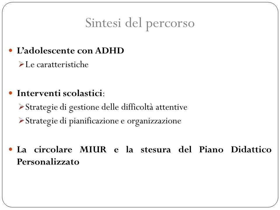 Ladolescente con ADHD Le caratteristiche