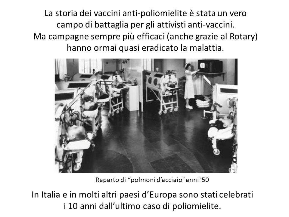 La storia dei vaccini anti-poliomielite è stata un vero campo di battaglia per gli attivisti anti-vaccini. Ma campagne sempre più efficaci (anche graz