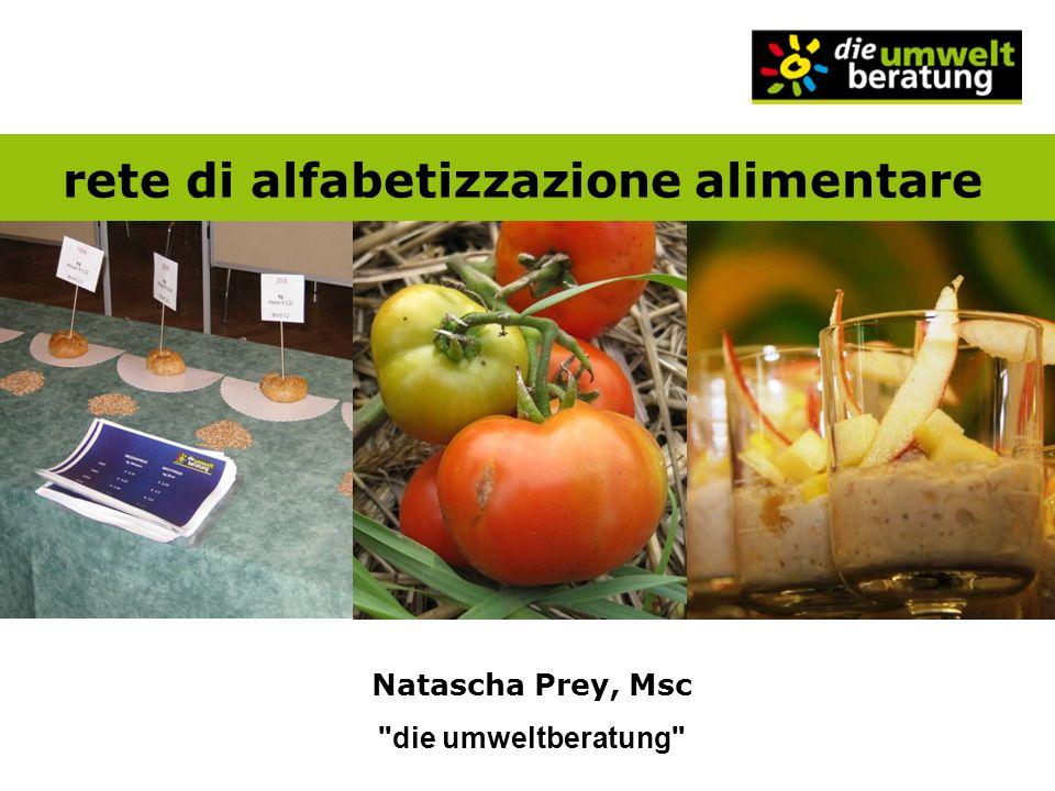 rete di alfabetizzazione alimentare Natascha Prey, Msc