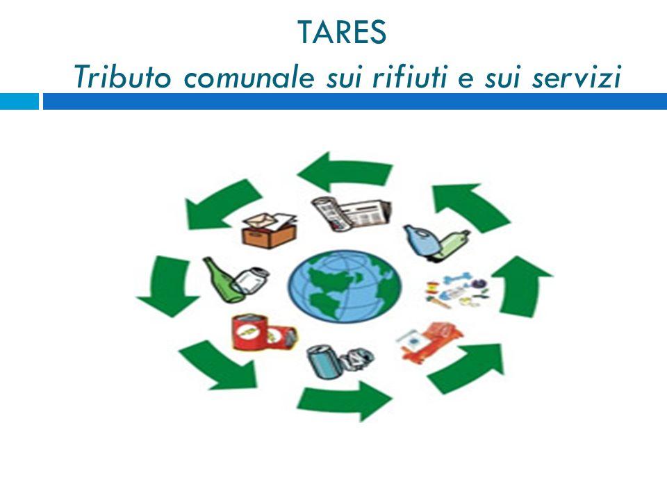 TARES Tributo comunale sui rifiuti e sui servizi