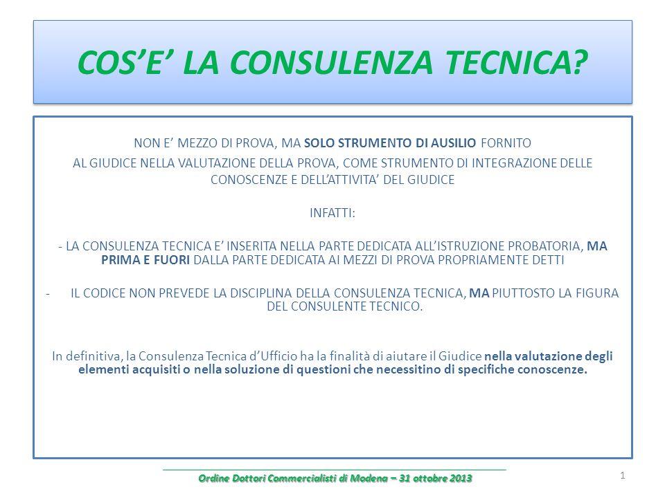 segue CONSULENZA TECNICA CONTABILE (art.