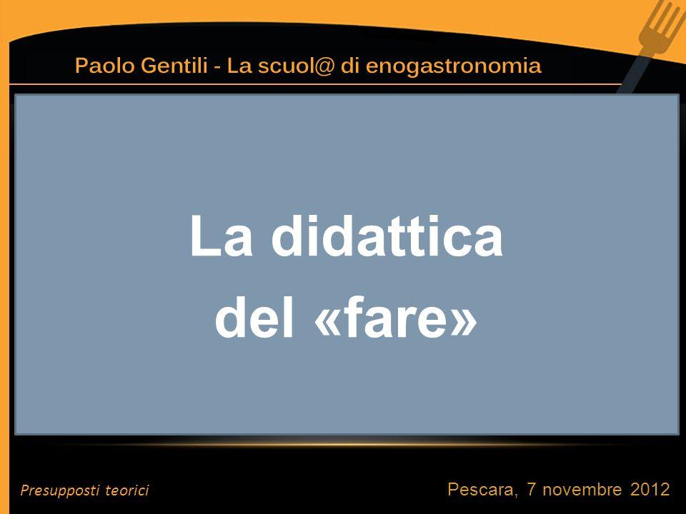 Pescara, 7 novembre 2012 FORMAZIONE PROFESSIONALIZZAZIONE RIPRODUZIONE J.