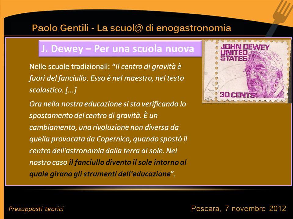 Pescara, 7 novembre 2012 J.