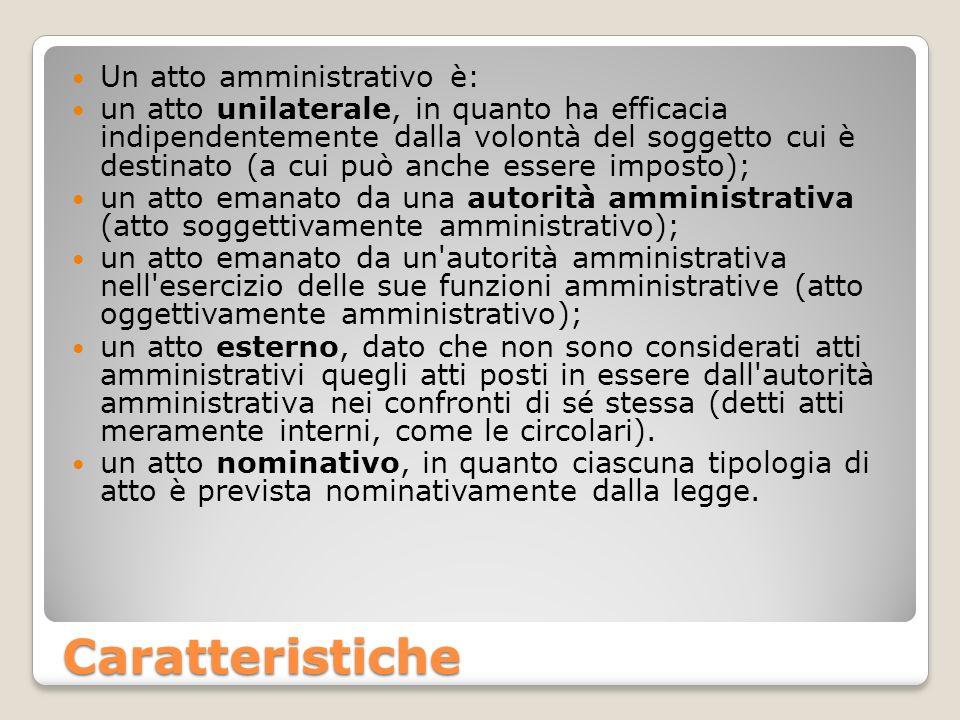 Nullità dell atto amministrativo e annullabilità L atto amministrativo nullo è: inesistente; inefficace; insanabile.