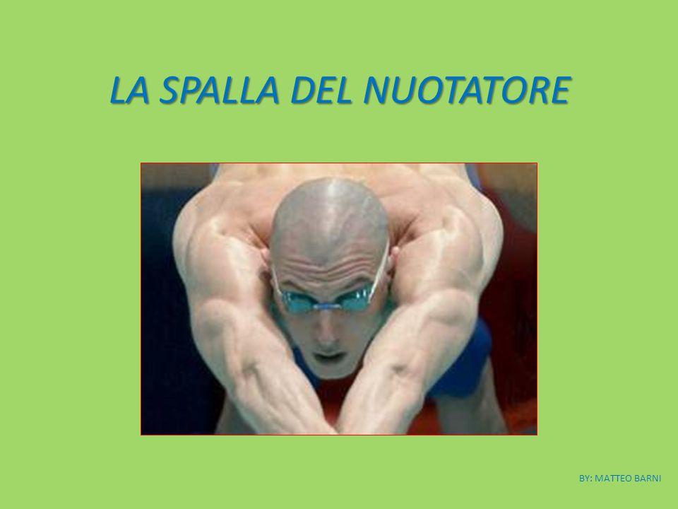 LA SPALLA DEL NUOTATORE BY: MATTEO BARNI
