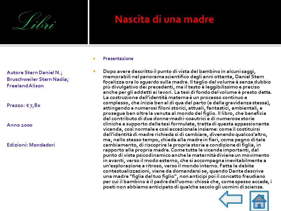 Libri Presentazione Il volume presenta una revisione e un adattamento italiano ad uno strumento di tipo semiprotettivo utilizzabile sia per fini clini