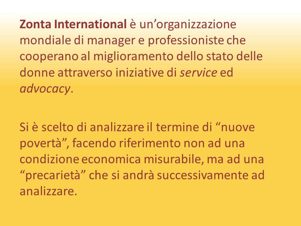 Zonta International è unorganizzazione mondiale di manager e professioniste che cooperano al miglioramento dello stato delle donne attraverso iniziative di service ed advocacy.