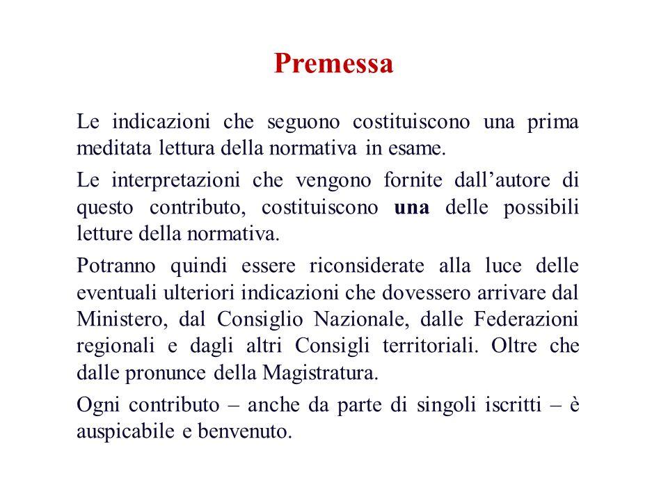 Funzioni dei Consigli di disciplina Art.3, comma 5, lett.