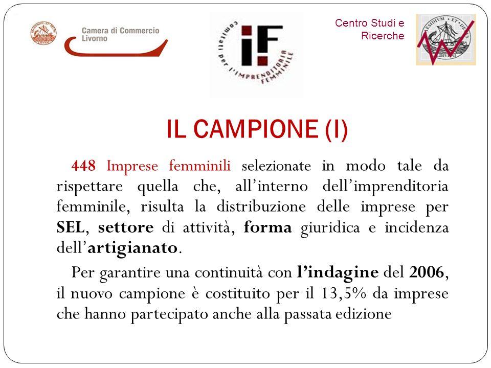Centro Studi e Ricerche IMPRENDITORIA FEMMINILE in provincia di Livorno INDAGINE QUALITATIVA 2012 Venerdì 8 febbraio 2013