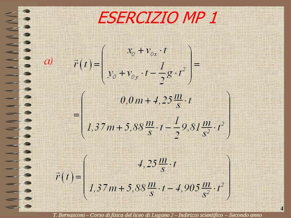 ESERCIZIO MP 1 T.