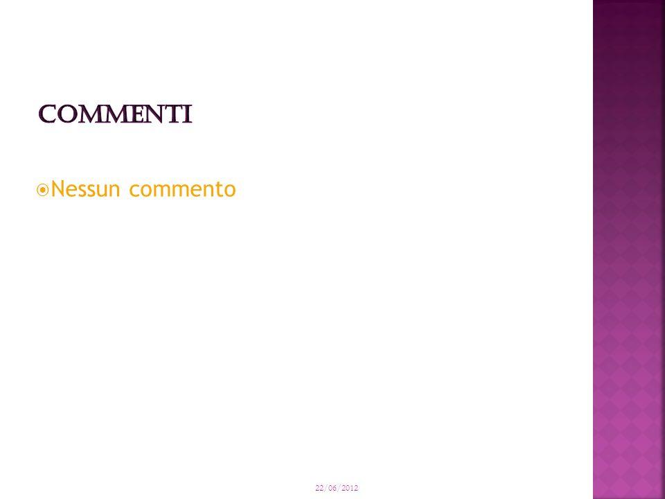 Nessun commento 22/06/2012