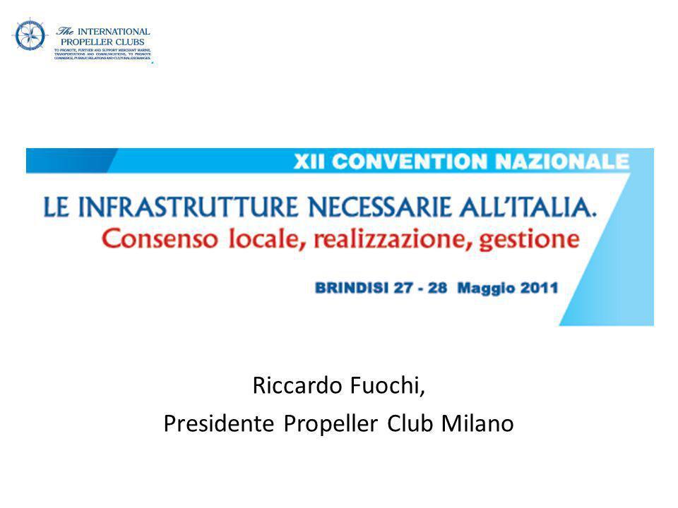 Riccardo Fuochi, Presidente Propeller Club Milano