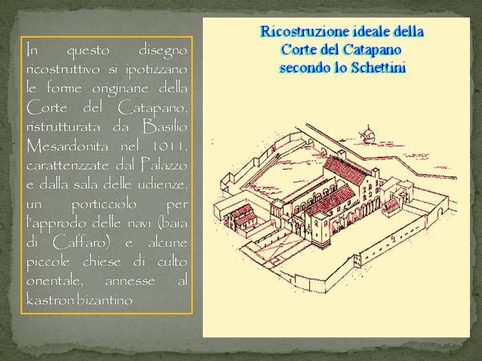 Le arcate rendono evidente che la pianta della Basilica non è ortogonale, e ciò è dovuto al fatto di essere stata costruita sopra le strutture di precedenti edifici, ereditandone le irregolarità.