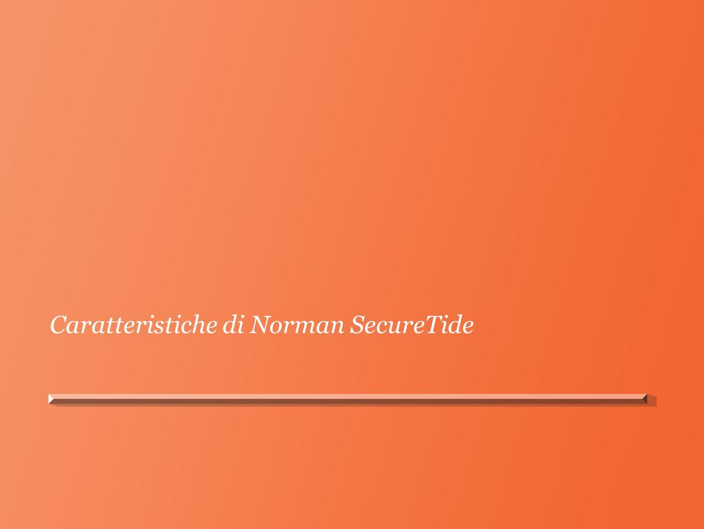 Caratteristiche di Norman SecureTide