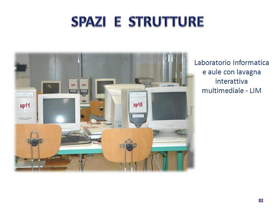 Laboratorio Informatica e aule con lavagna interattiva multimediale - LIM