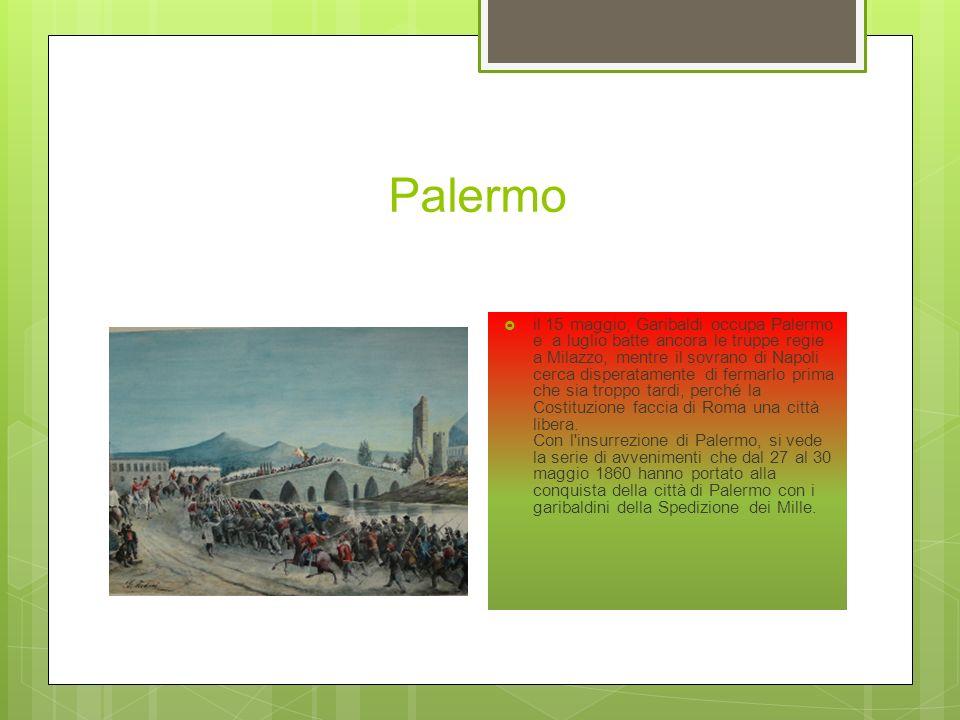 Battaglia di Calatafimi I Mille, affiancati da 500