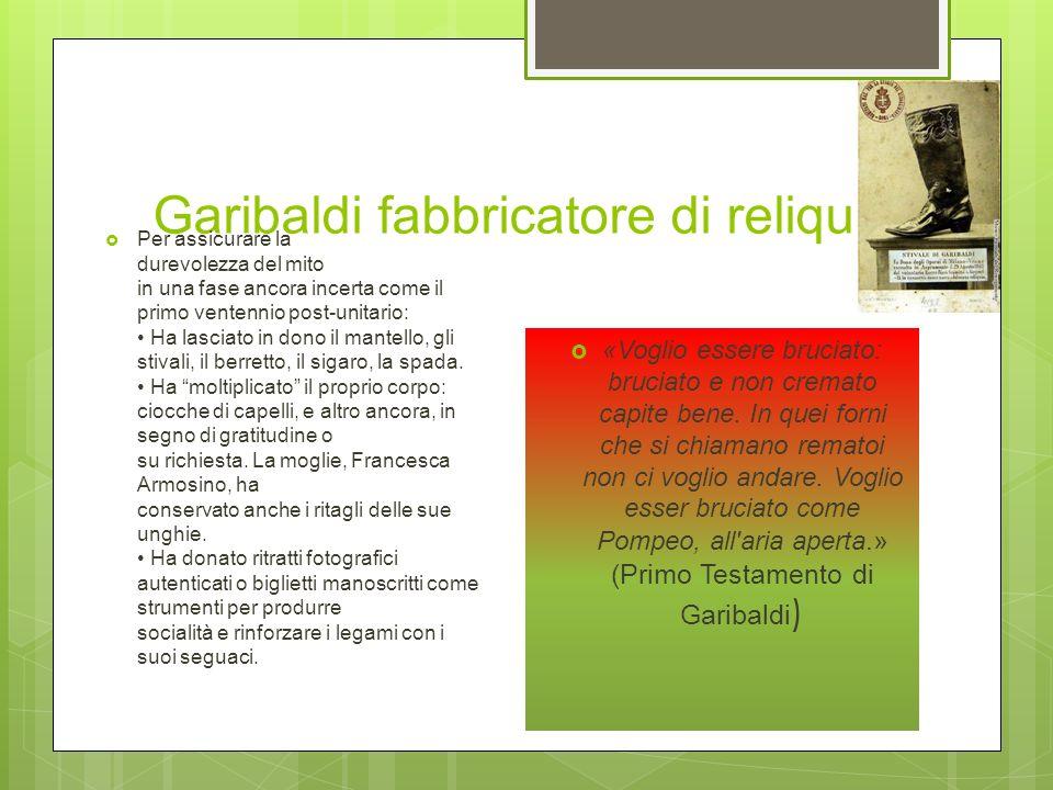 Garibaldi Roma-Aspromonte Nellintento di liberare Roma con 2000 volontari, viene fermato e ferito sullAspromonte il 29 agosto. Resta in carcere fino a