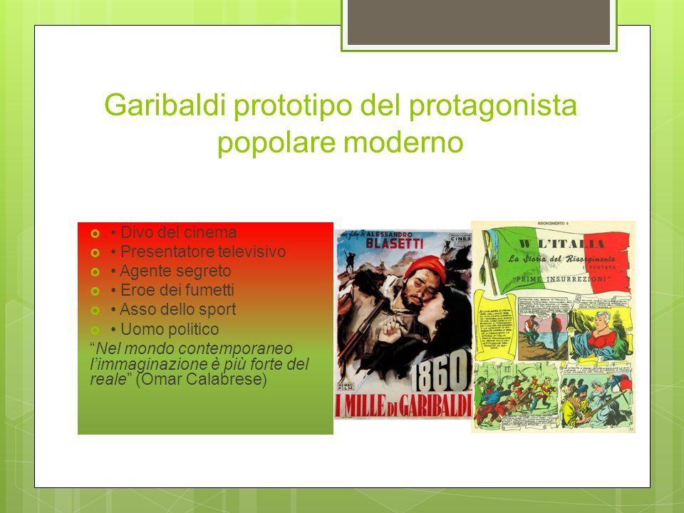 Uso pubblicitario di Garibaldi «Reduce da Aspromonte Giuseppe Garibaldi in questo camerino fece il bagno» (Epigrafe sul muro dellHotel Bellevue a Isch