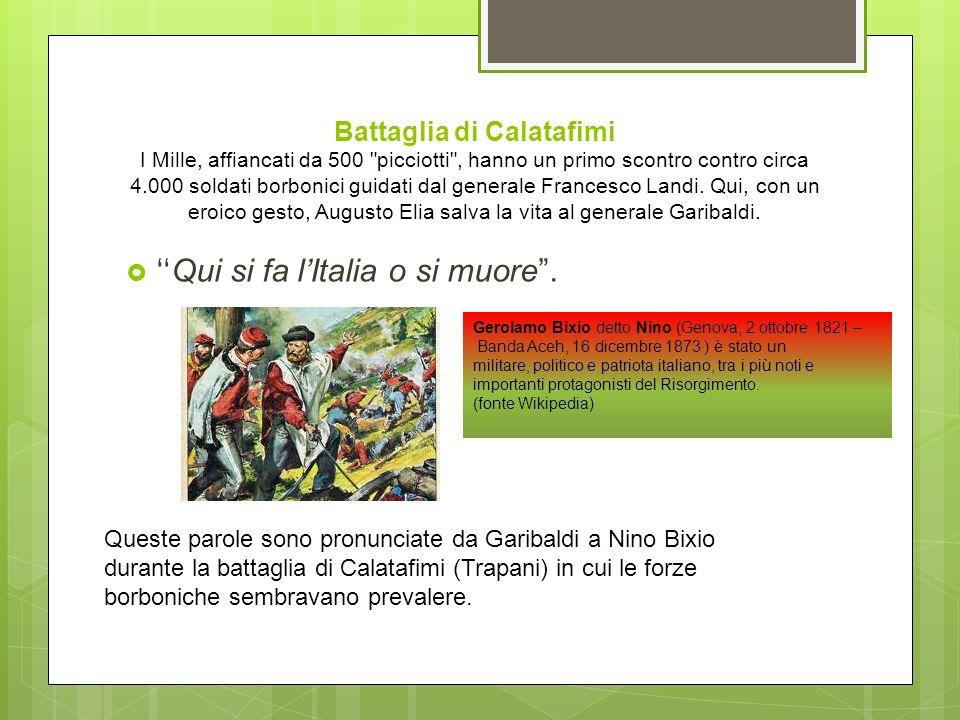 Sbarco a Marsala Lo sbarco a Marsala si è fatto l11 maggio 1860 con Garibaldi e i Mille. Arrivano con le navi dellArmata di Mare delle Due Sicilie e d