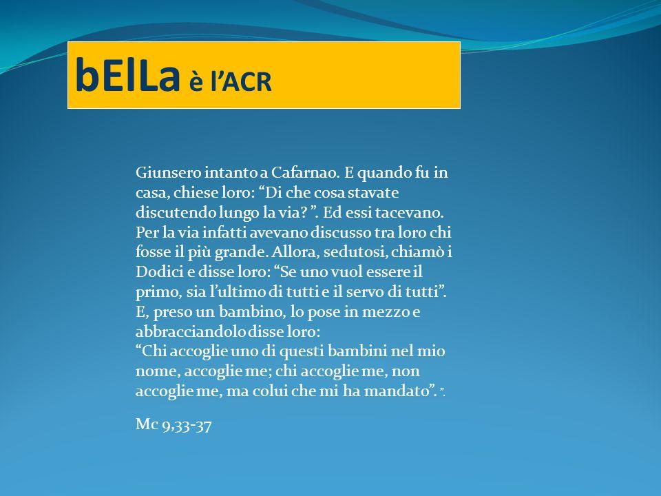 bElLa è lACR Giunsero intanto a Cafarnao.