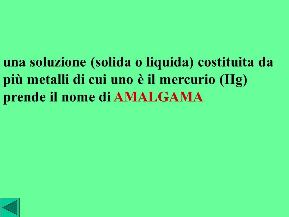 esempi di soluzioni solide sono leghe metalliche alcuni cristalli colorati vetri colorati il rubino è costituito da una matrice di allumina Al 2 O 3 (